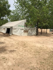 The group will be helping Global Refuge International replace the existing tent with a 3,100 square foot building that will include a medical assessment area, two private delivery rooms, two private triage rooms, dorm rooms for visiting doctors, and office and storage space.
