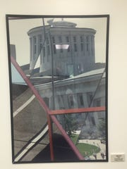 Pape joked this image of a fractured Ohio Statehouse could also suggest some political commentary.