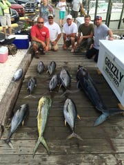 A recent good day out on the water.