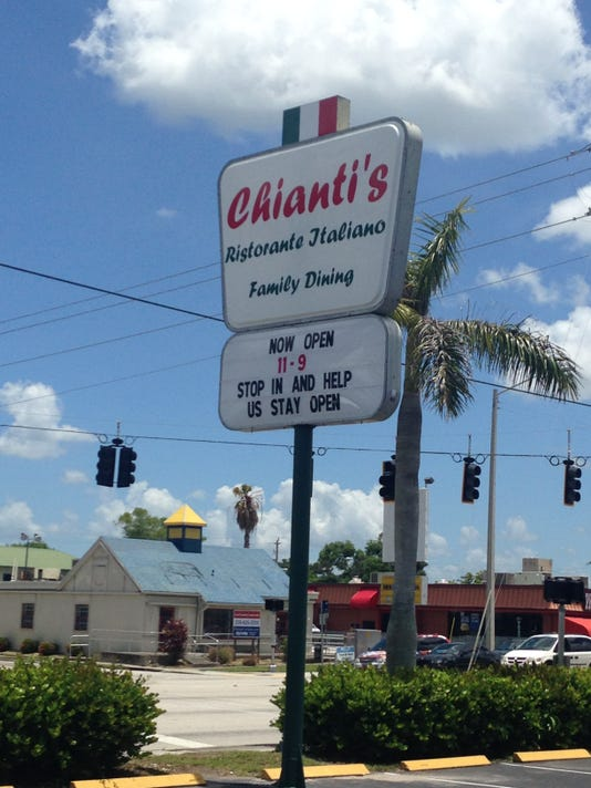 Chianti's now open