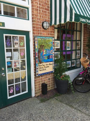 Island Studio Paint Your Own Pottery is at The Walk at Harbor Square,  261 96th St., Stone Harbor.