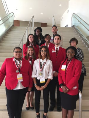 Attendees represented Greenville County Schools at the Family, Career and Community Leaders of America National Leadership Conference held in San Diego California in July.