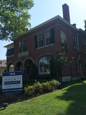 First Citizens Bank bought the home of Rocky McElhaney Law Firm at 1516 16th Ave. S. .