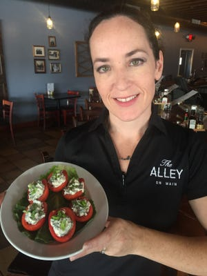 Christy Hackinson will serve up BLT Tomatoes at The Alley on Main.