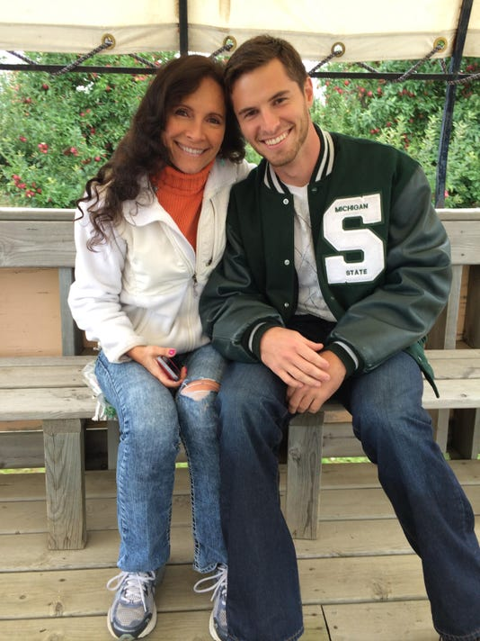 Mike Sadler and mother 2