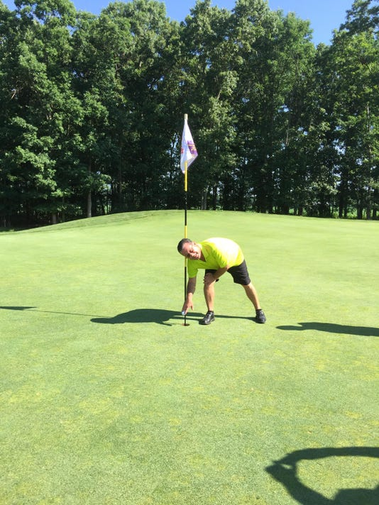 Pete hole in one
