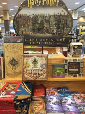 Harry Potter display at Palisades Center mall on Sunday, July 31, 2016.