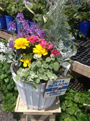 Barlow Flower Farm offers instant garden services.