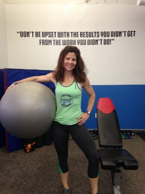 Gina Heyn, owner of Find Your Fitness with Gina in downtown Melbourne.