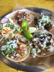 Bajo Sexto serves simple high-quality tacos for $3.50 to $5 each.