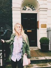 Madison Schumacher, a senior at FSU, studied for weeks this summer in London.