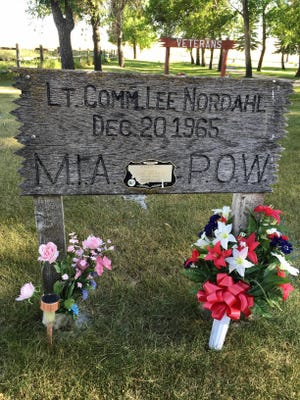 Classmates and the Choteau American Legion are working to replace a wooden marker for Lt. Cmdr. Lee Nordahl, who never returned from Vietnam.