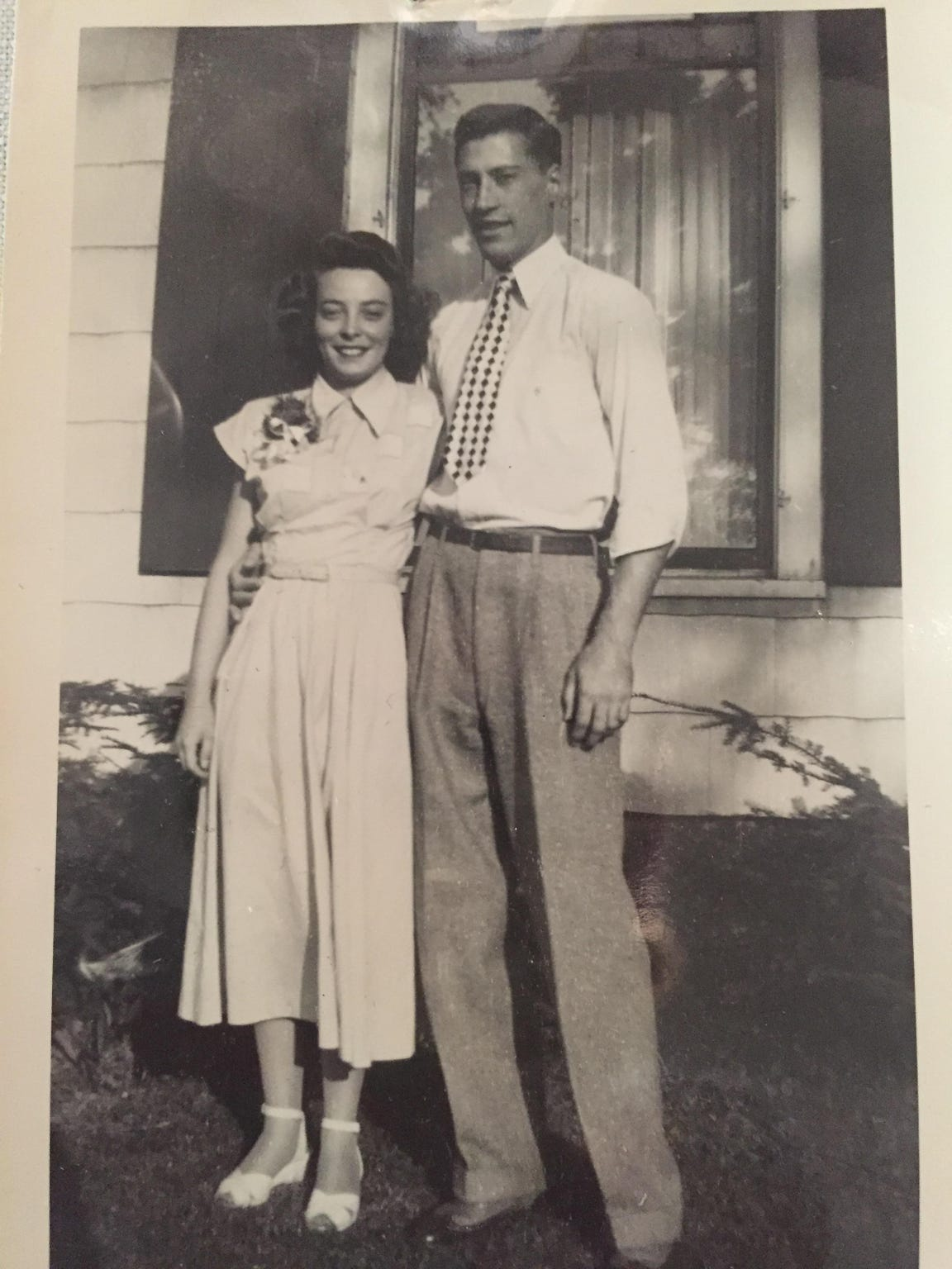 Stan and Frances Jones, taken sometimes in the 1950s as they were starting their lives together.