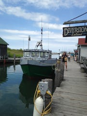 Two historic commercial fishing vessels are operated by the Fishtown Preservation Society.