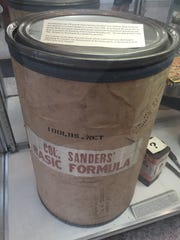 """""""Extremely rare"""" barrel used by Col. Sanders for shipping"""