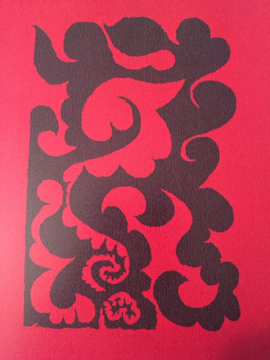 Volutes tapestry