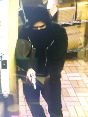 Southwest Florida Crime Stoppers is asking for the public's help identifying a partially masked man who held up the Hardee's fast food restaurant at gunpoint on Tuesday, Aug. 30, 2016.