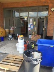 Crews completed abatement work at Vineland High School