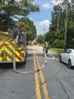 Vineland firefighters were dispatched to a reported gas leak on Becker Drive on Sept. 8.