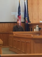 Ronald Horan took the stand in his own defense during