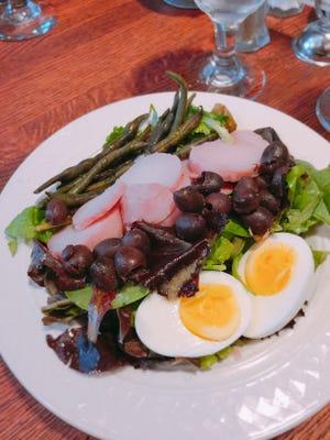 Salad nicoise.