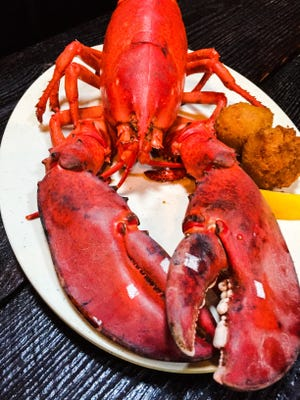 Fresh lobster is one of many seafood options available at Moby Dicky's in Hendersonville.