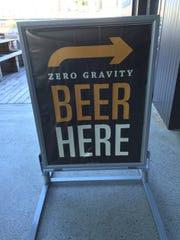 Zero Gravity Craft Brewery on Pine Street is expanding its tasting room and menu.