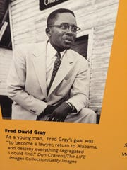The museum also acknowledges Fred Gray, a prominent