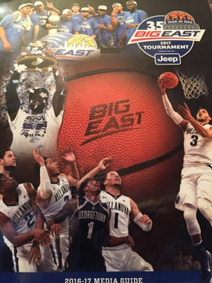 Cover of the Big East media guide.