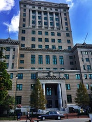 I was so impressed with the Buncombe County Courthouse
