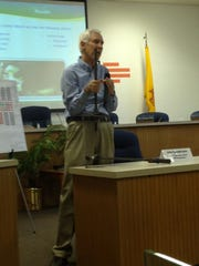 John VandeKraats talks about how roof bolts are used