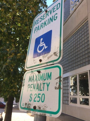 The city of Asheville does enforce violations in handicapped parking spaces, but it also offers an appeals process. Many times, handicapped drivers have placards but have forgotten to display them or they have been misplaced.