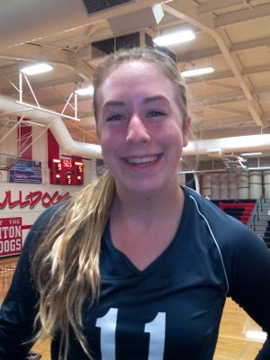 University High School volleyball player Katherine Potter is the Coloradoan's Female Athlete of the Week.