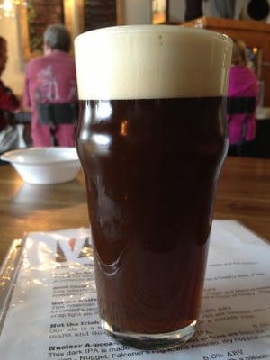 A nitro beer at Verboten brewery in Loveland.