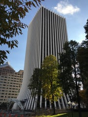 The 26-story building formerly known as Chase Tower