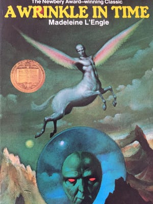 """""""A Wrinkle in Time"""" by Madeleine L'Engle."""