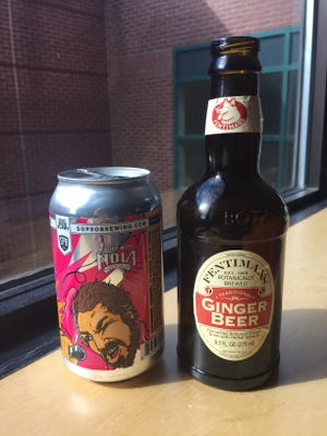 Jeff and Jason dive in to a specialty brew from Southern Prohibition and a non-alcoholic ginger beer.