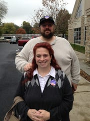 Dane and Paula Smith voted in the 2016 general election.