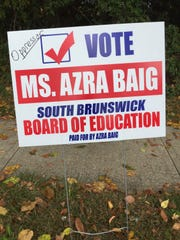 A Muslim civil liberties and advocacy organization on Wednesday called on state and federal law-enforcement authorities to investigate hate graffiti left on the campaign lawn signs of a South Brunswick Board of Education member.