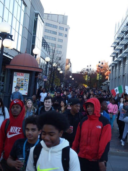 City High walkout