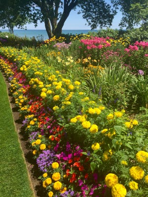 The West of the Lake Gardens on Lake Michigan  in Manitowoc are a must-see, and they're free.