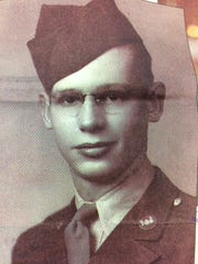 Don Willliams during World War II.
