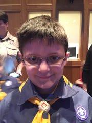 Hyker Miller, 7, of Scott, Louisiana.