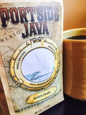 Portside Java in Hendersonville offers locally roasted coffee beans in 18 varieties.