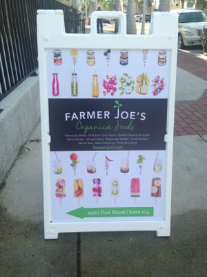 Farmer Joe's will celebrate its official opening on Dec. 2 in downtown Fort Myers.