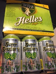 Helles by von Trapp Brewery in Stowe and Super Session