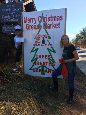 The annual Greens Market includes much more than just greens. It's Dec. 2 and 9 at Clem's Cabin on Hendersonville Road.