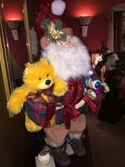 Find Nancy Crouse and her hand-made Santas on Facebook or give her a call at 512-905-3220.
