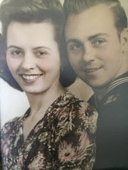 Russell Shields and his wife, Helen, of St. Clair Shores