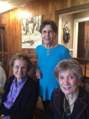Nancy Staab, Suzanne Wolff, and Judy Worthen